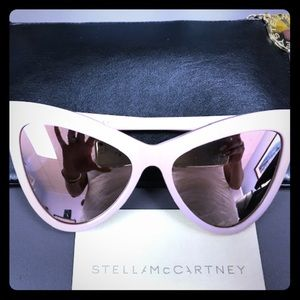 Stella McCartney SC0034S Cat Eye Pink sunnies